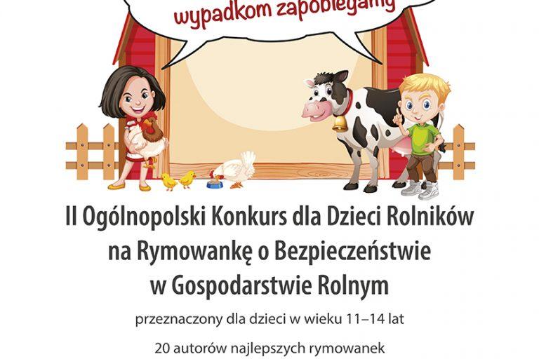 Plakat II konkurs rymowanki.indd